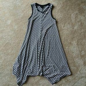 Merona B&W Striped Sun Dress